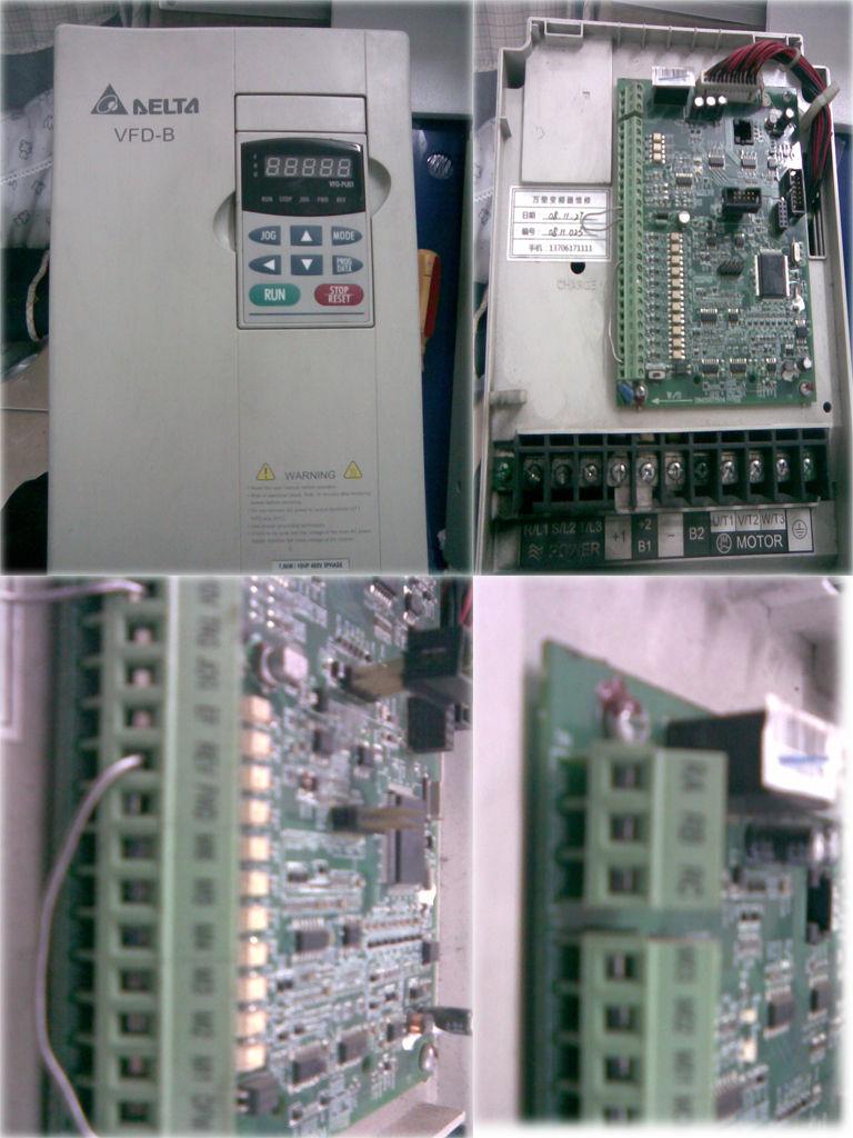 台达变频器控制端子