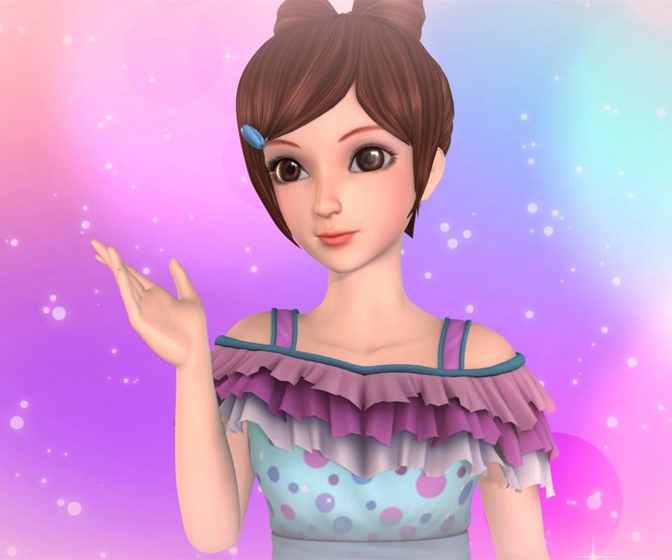 动画叶罗丽精灵梦仙子头发扎的过程大全图片图片