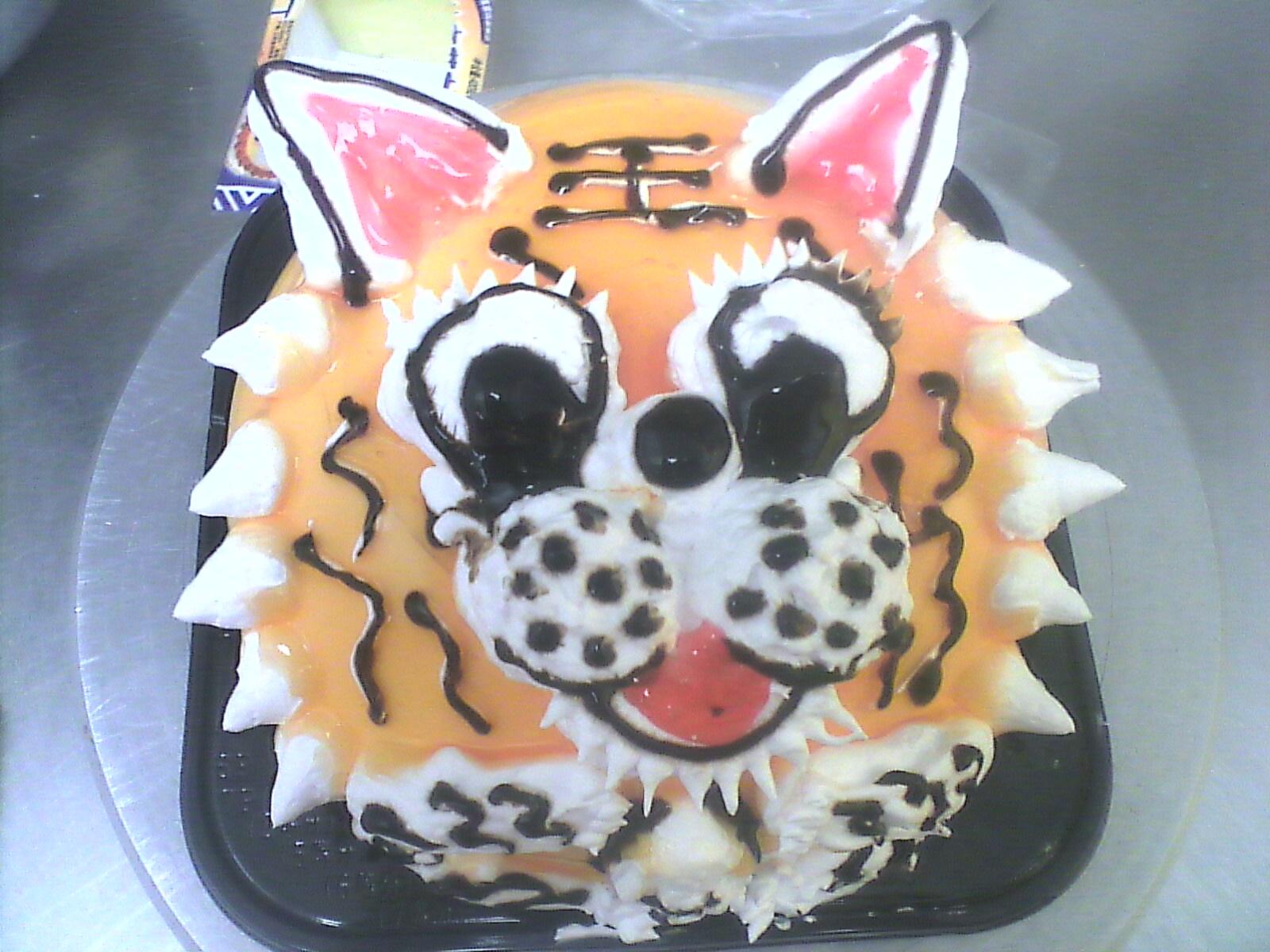 蛋糕老虎的做法?
