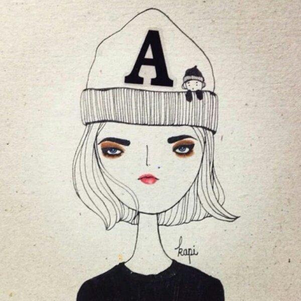 谁有可以当做qq头像的漫画少女图片?要很酷很可爱 长头发 ,冷门一点