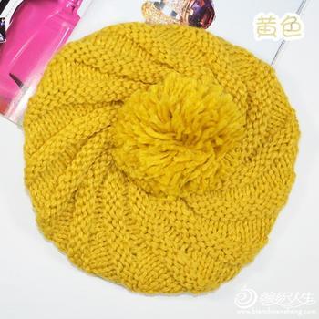 帽子织法:求这顶帽子的详细织法,很急!越具体越好!