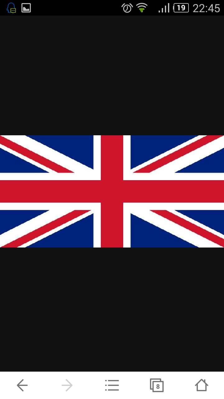  英国国旗:综合了原英格兰(白地红色正十字旗)