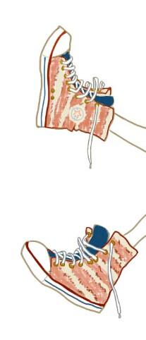 动漫人物怎么画鞋子