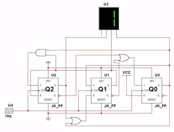 设计数字时钟电路原理图
