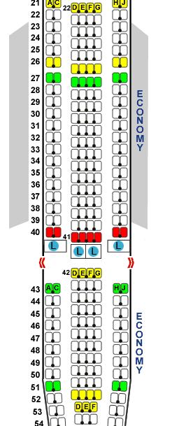 空客a340300座位图_只有东航在用空客a340执飞上海悉尼航线.