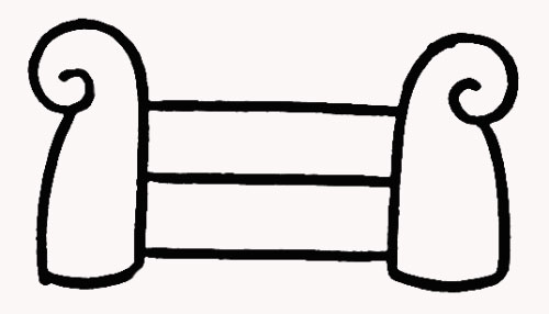 沙发怎么画