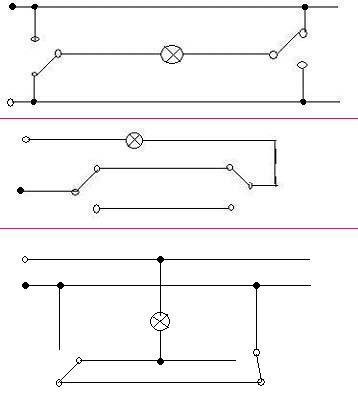 一灯两控怎么接线?