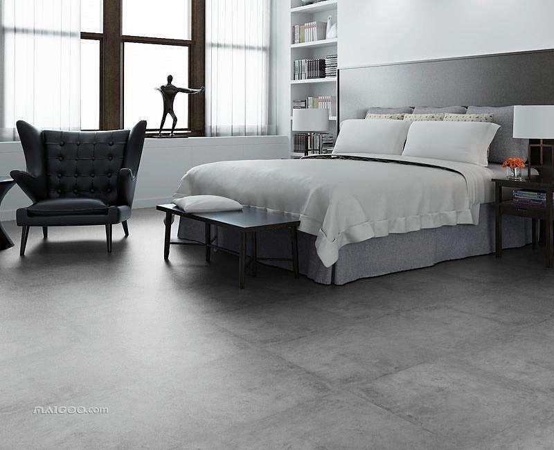 灰色的地板装修效果图有哪些