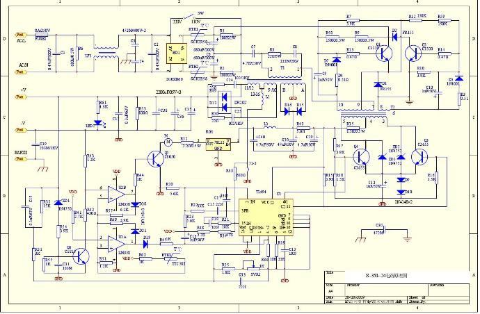 电路 电路图 电子 原理图 690_452