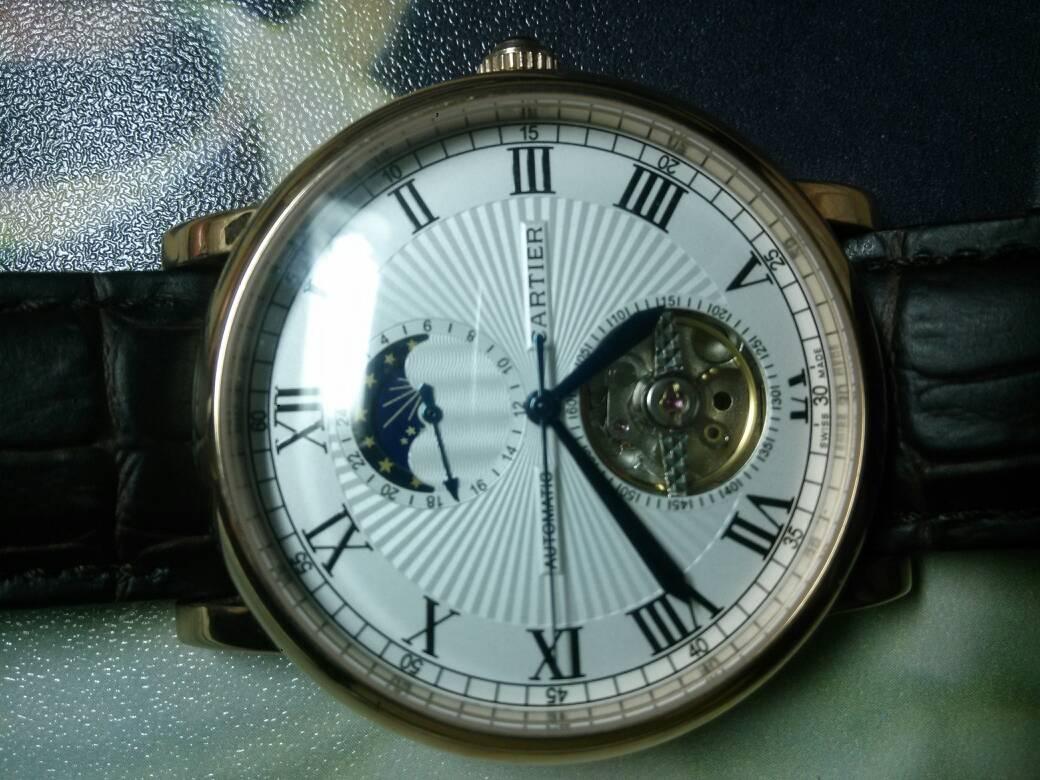 这只卡地亚手表如何辨别真假图片