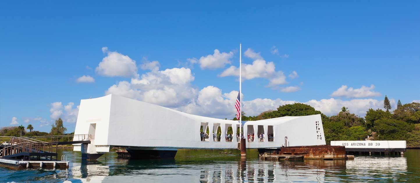 珍珠港纪念公园平面图