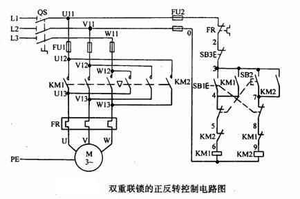 三相异步电动机的正反装控制电路怎么接线