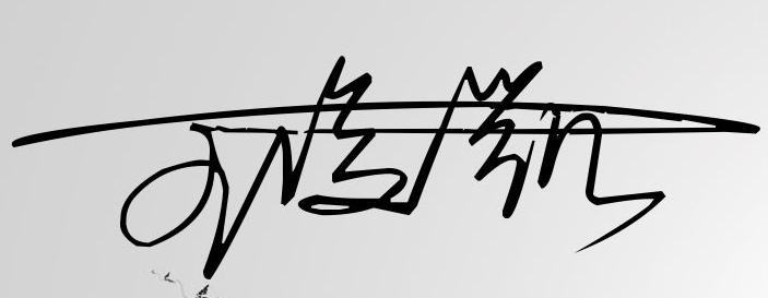 王俊凯签名慢动作分解图片