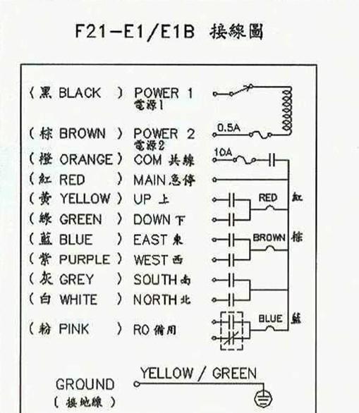 谁能提供遥控器控制电动葫芦线路图跪求