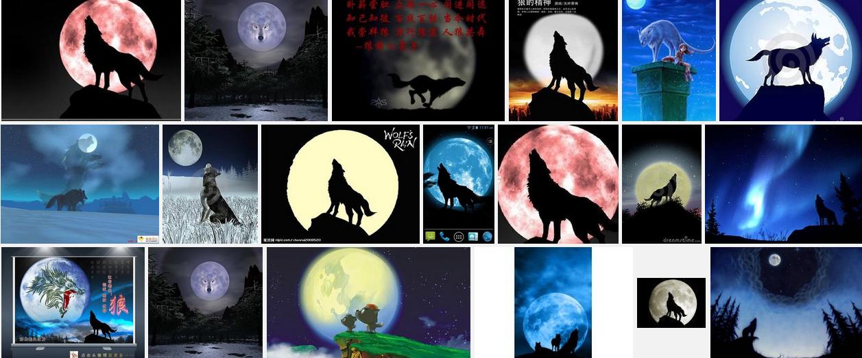狼国成人色_狼和月亮的照片越多越好,谢谢