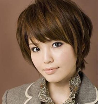 方脸女生适合什么发型图片图片