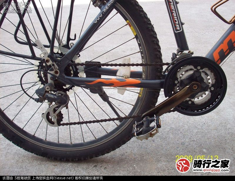 自行车变速系统的变速器的作用