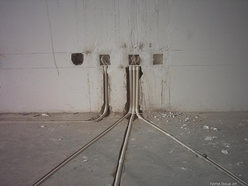 室内电路布线图实景图