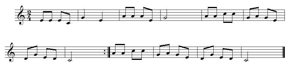 求把简谱翻译成五线谱