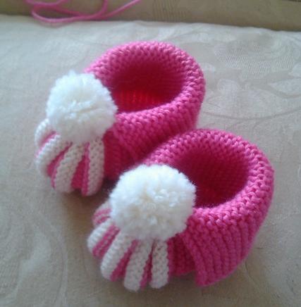 怎样编织儿童鞋子
