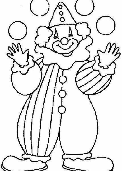 小丑的全身怎么简笔画