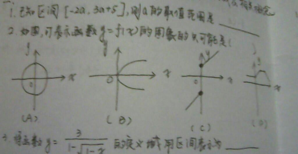 合川�:o�y�e�f�x�_如图,可表示函数y=f(x)的图像的只可能是?