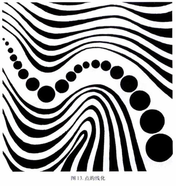 求点线面黑白构成图(西湖风景),谢谢