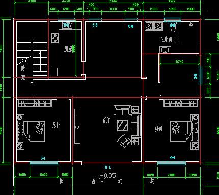 15米宽平房设计图纸