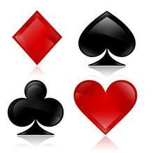 哪位大神能提供一下扑克牌中黑桃a和红桃a的qq情侣头像……谢谢了