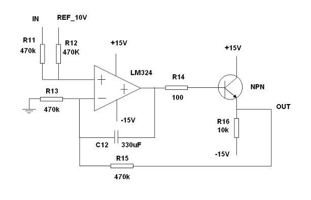 输出和输入关系是什么,电路的功能,三极管的作用?