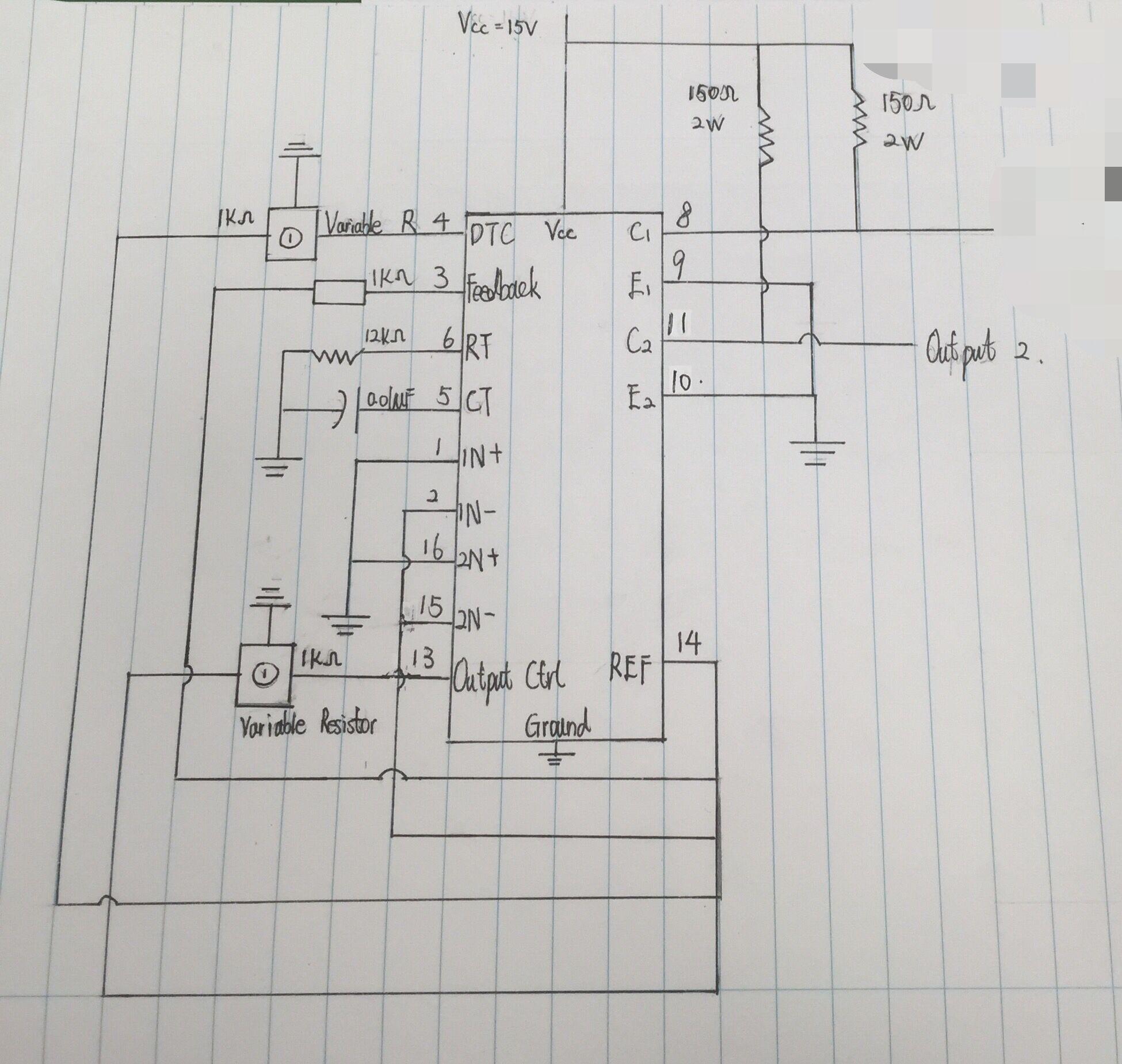 tl494测试电路图!
