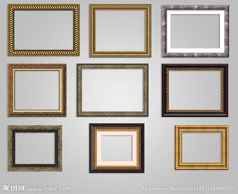 画框内包边折法步骤