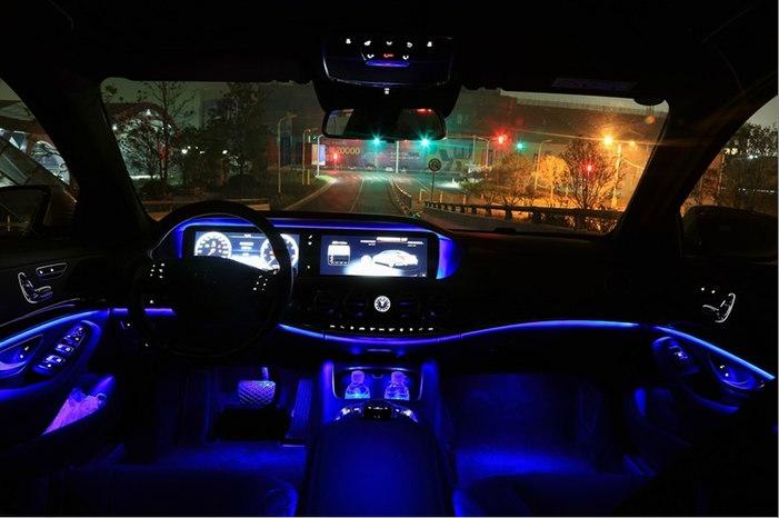 宝马奔驰奥迪谁的车内氛围灯最漂亮