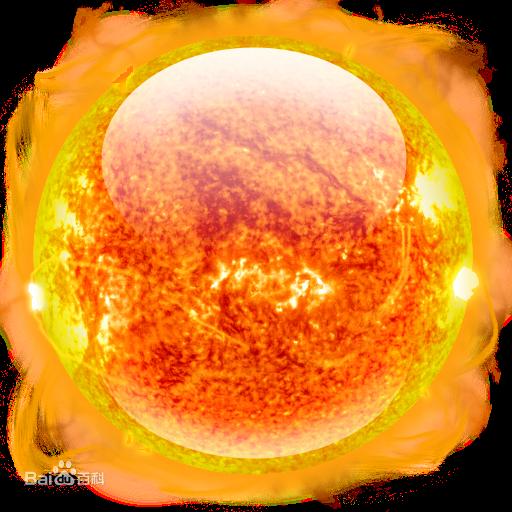 求太阳的3d高清贴图