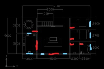 急求 长14米宽9米两层房屋设计图 3室2厅1卫 整体效果
