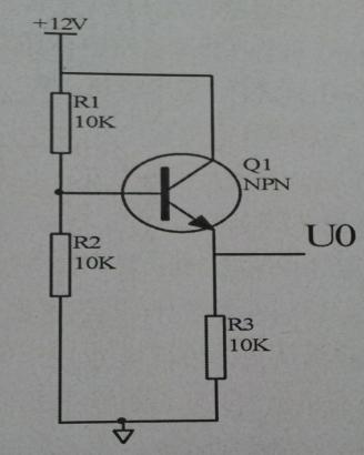 三极管放大电路怎么计算(求uo)