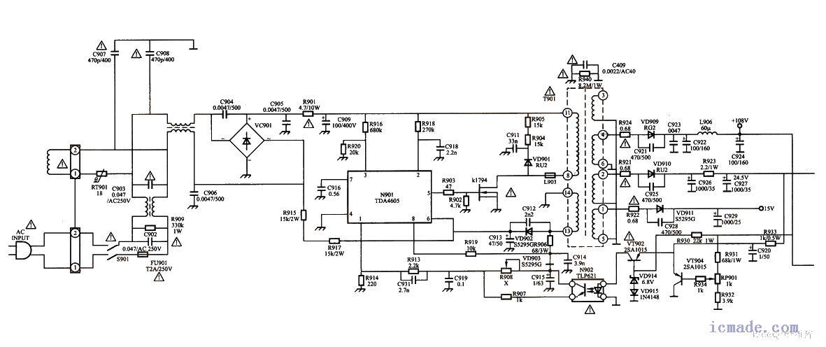电路 电路图 电子 工程图 平面图 原理图 1181_496