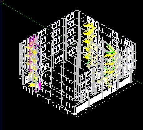 天正怎么生成立面图,三维建筑组合模型可以生成.