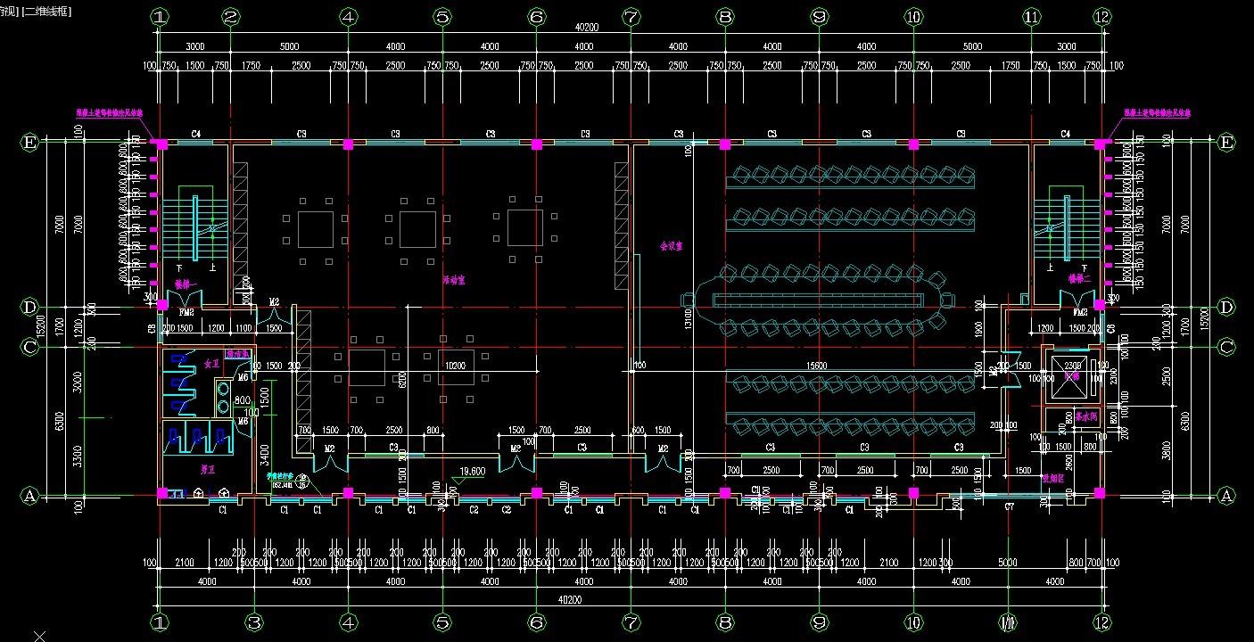 房屋建筑学方案设计 求大神图片