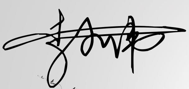 李小伟个性签名怎么签图片