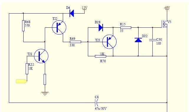 5,lm358为电流采样使用的运放.