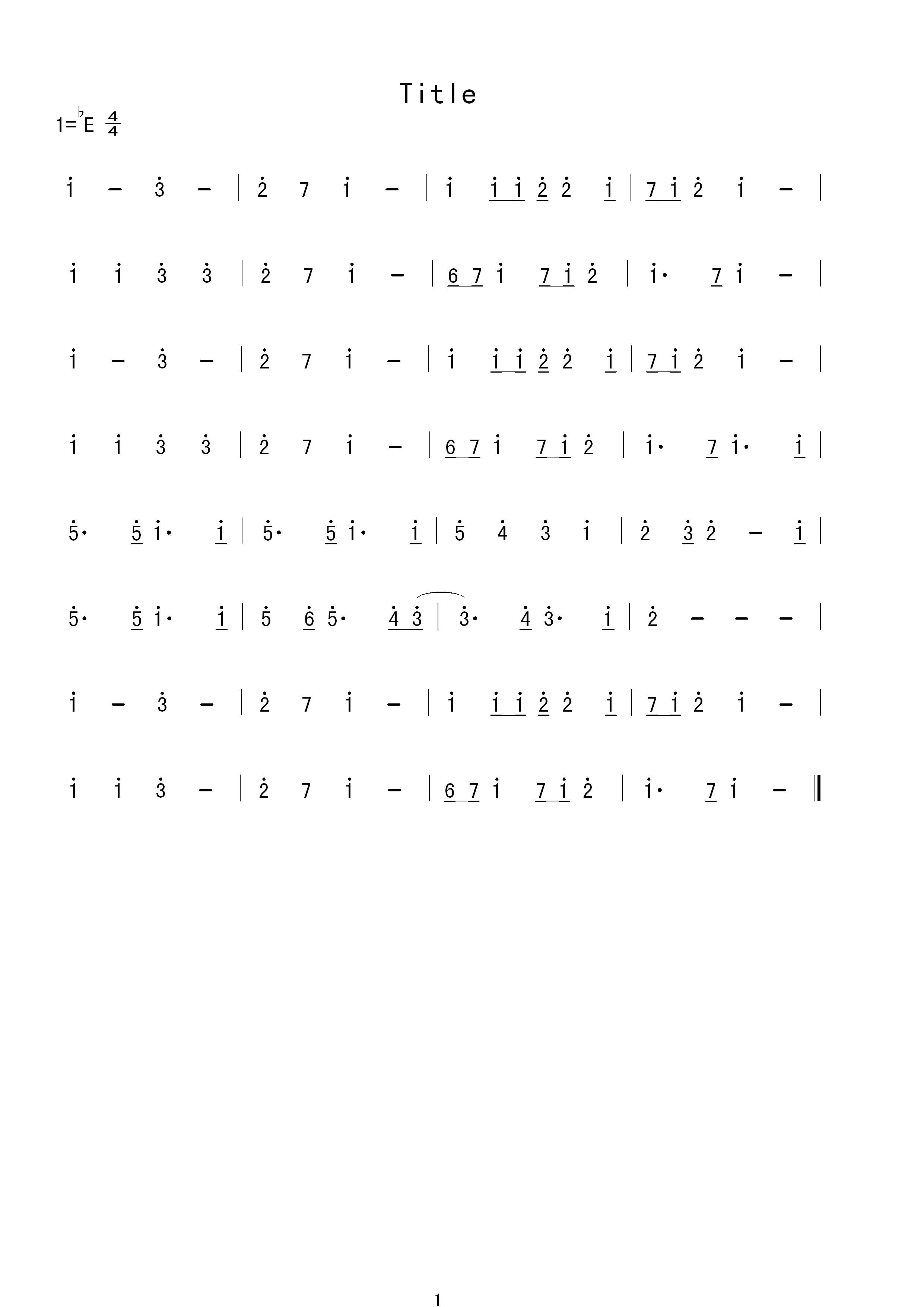 有人会把钢琴谱(五线谱)翻译成简谱吗?图片