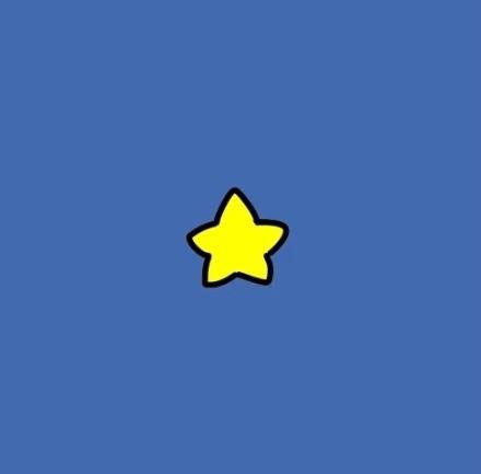 求图片:带黄色星星卡通可爱头像