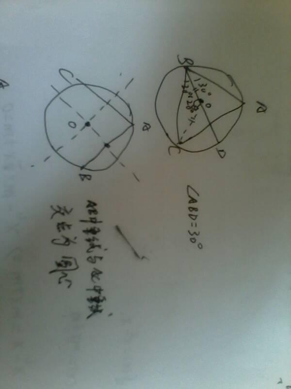 初中数学几何圆
