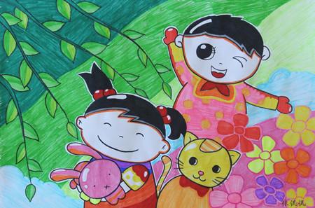 动漫 儿童画 卡通 漫画 头像 450_297图片
