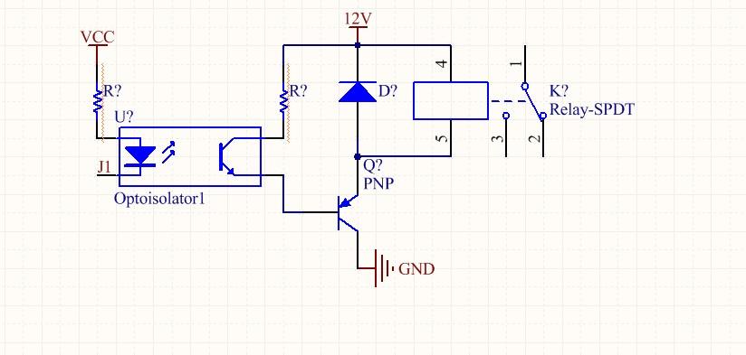 单片机驱动继电器直接用三极管还是先加光耦再接