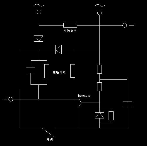 整流电路,场效应管