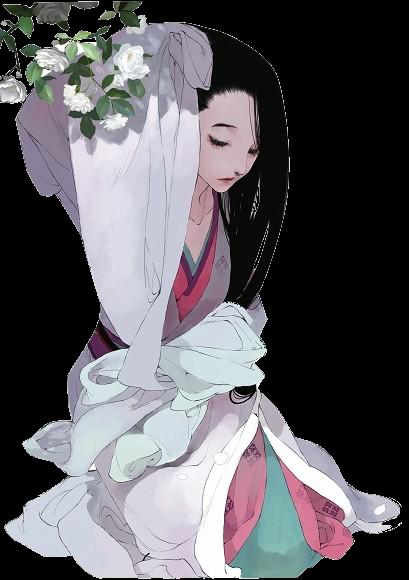 跪求古风白衣女子立绘(看起来比较高冷)