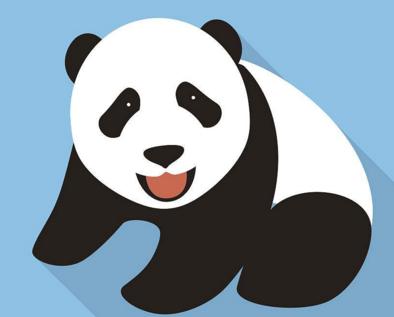 熊猫最简单的简笔画怎么画图片