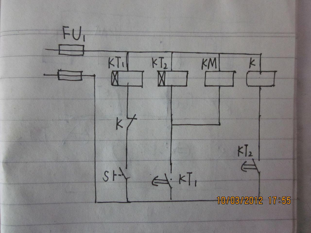 """55:28   最佳答案 追问 图中双延时时间继电器难道可以""""通断循环延时"""